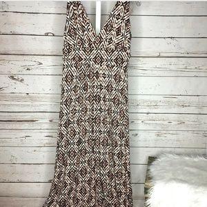 Tart V neck maxi dress size Large